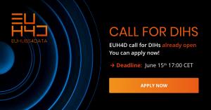 EUHubs4Data abre el plazo de presentación de solicitudes para su primera Open Call para DIH