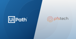 PFS Tech firma un acuerdo estratégico con UiPath para ofrecer servicios de Robotic Process Automation (RPA)