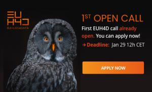 EUHubs4Data abre el plazo de presentación de solicitudes para su primera Open Call