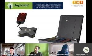 ITI busca empresas para transferir la innovadora tecnología Deploids para la digitalización de plantas industriales