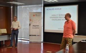 Estratecno e ITI celebran el seminario Agile y Scrum en grandes proyectos: Escalado Agile con SAFe.