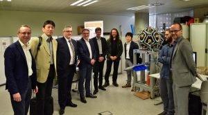 SONY e Iberoptics visitan ITI para conocer el sistema de inspección industrial Zerogravity3D