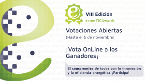 Se abren las votaciones de los 'Premios a la innovación y tecnología para la eficiencia energética en la era digital