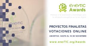 Publicado el listado de finalistas de los enerTIC Awards 2018