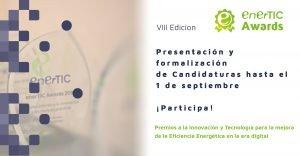 Recepción de casos de éxito referentes en tecnología e innovación para la eficiencia energética hasta el 1 de septiembre