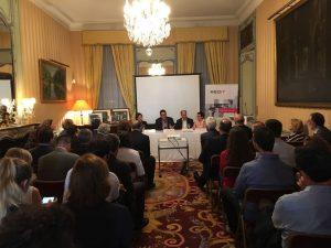 """REDIT presenta el libro """"Empresas que cambian el mundo"""" en el que participa ITI ante un centenar de representantes en Bruselas."""