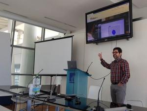 Juan Carlos Pérez y Santiago Cáceres asistieron en Cagliari a una reunión plenaria del proyecto FitOptiVis