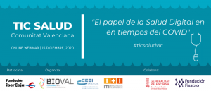 """6ª ed. TIC SALUD """"El papel de la Salud Digital en tiempos de COVID"""""""
