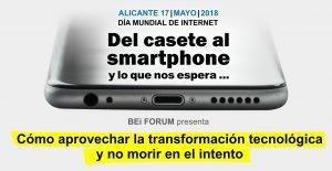 """ITI participa en la mesa redonda """"De la Revolución industrial a la Re evolución Tecnológica"""" dentro de las Jornadas de BEi FORUM."""