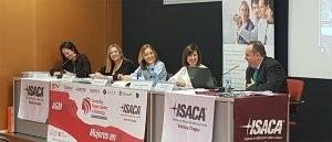 """ITI presente en la mesa """"Mujeres profesionales en TI"""" organizada por ISACA"""