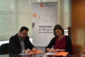 ITI firma un acuerdo de colaboración con la consultora Efficientic