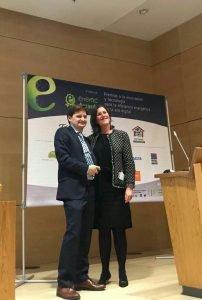 Ford España, ganadora del Premio EnerTIC Awards 2017 en la categoría Smart Production por el proyecto ´Industry 4.0´