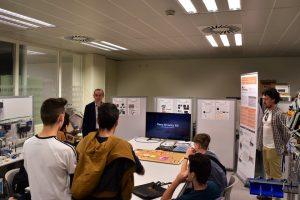ITI recibe la visita del I.E.S Escultor en Francesc Badia de Foios