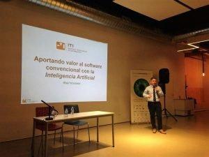 ITI participa en la Semana Informática de la Comunitat Valenciana 2018 con la ponencia Aportando valor al software convencional con la Inteligencia Artificial