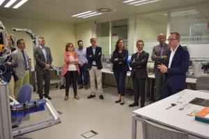 ITI recibe la visita oficial de la Conselleria de Economía Sostenible, Sectores Productivos, Comercio y Trabajo y del IVACE.